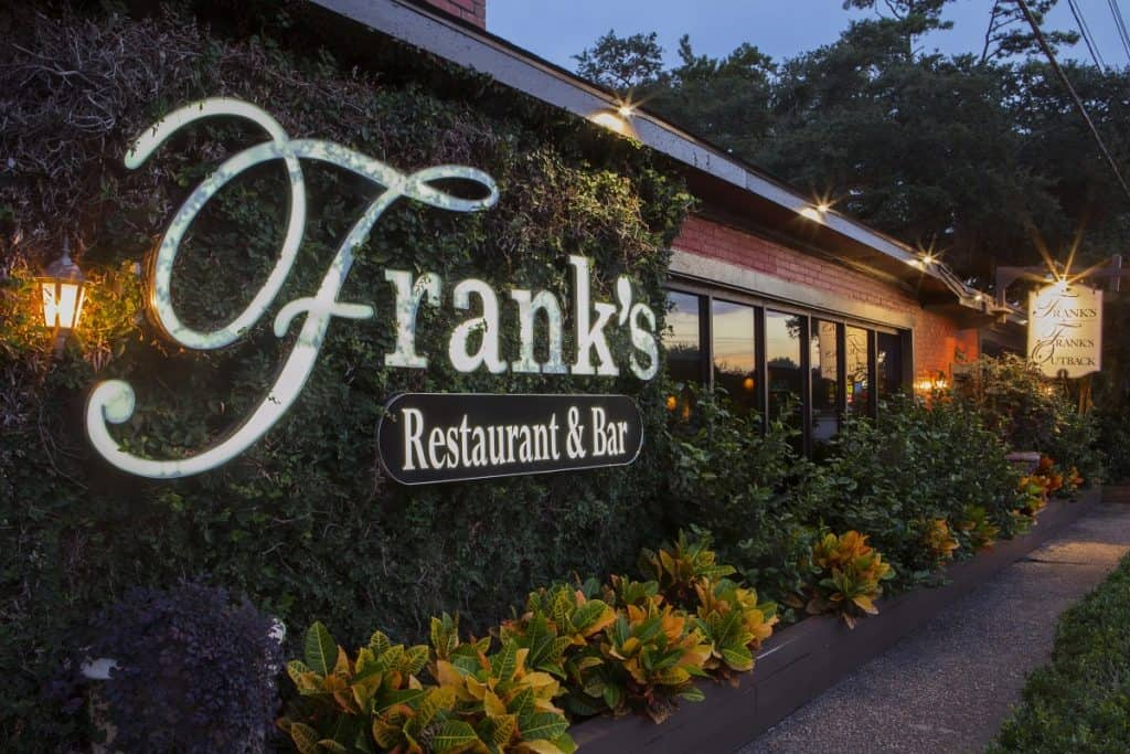 Franks Restaurant Sign Pawleys Island SC