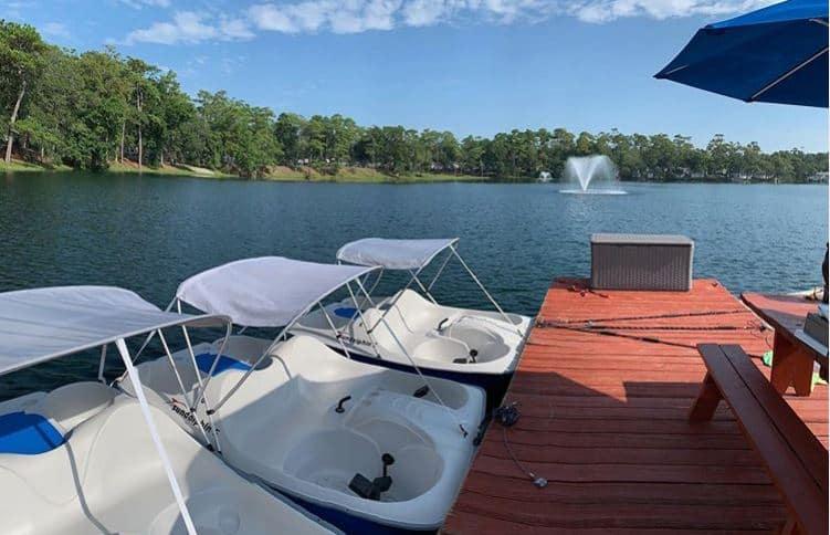 Myrtle Beach Travel Park Pond